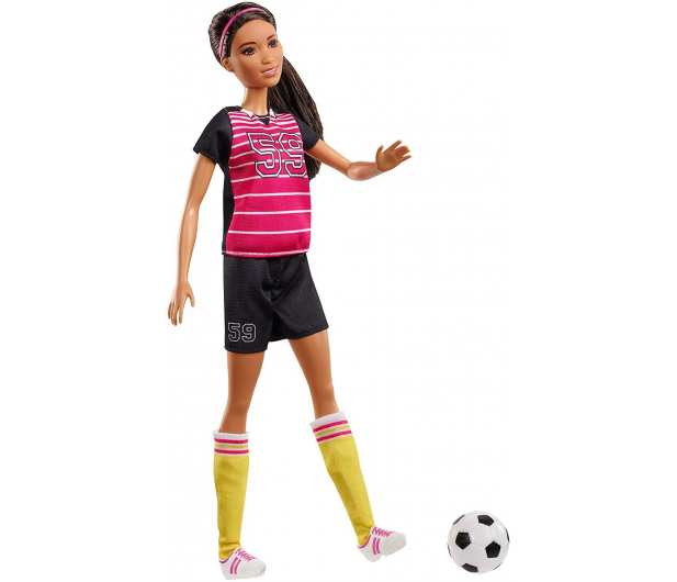 Barbie Kariera 60 urodziny Lalka Piłkarka - 471409 - zdjęcie 2