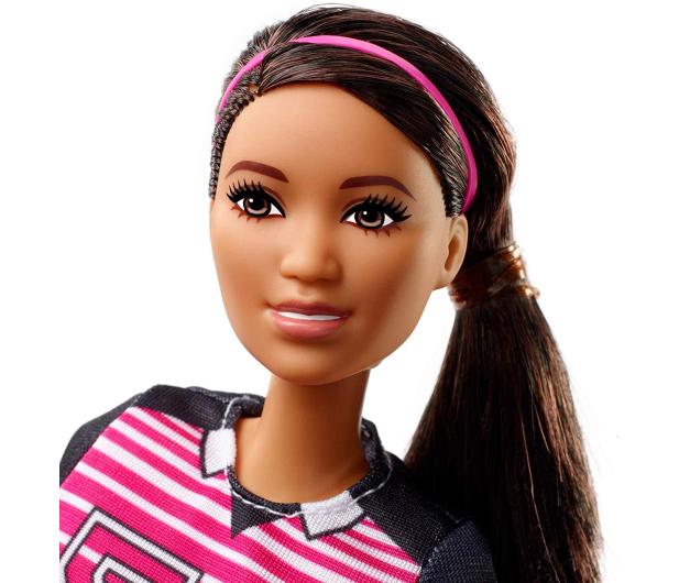 Barbie Kariera 60 urodziny Lalka Piłkarka - 471409 - zdjęcie 3