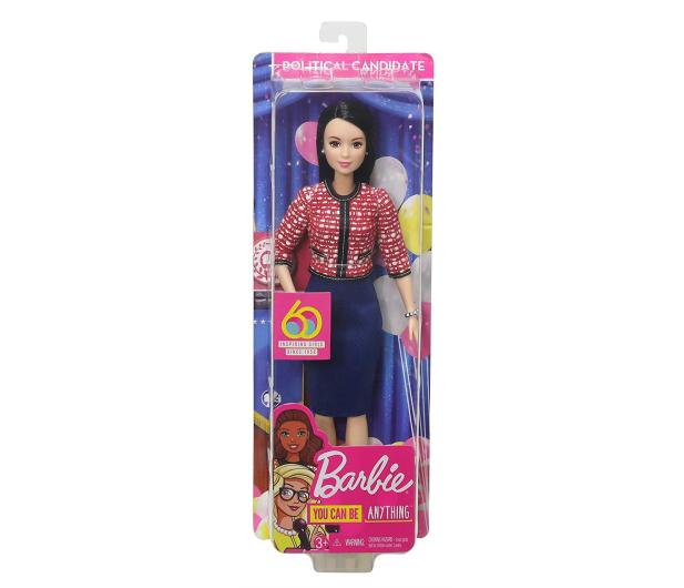 Barbie Kariera 60 urodziny Lalka Polityk - 471412 - zdjęcie 6