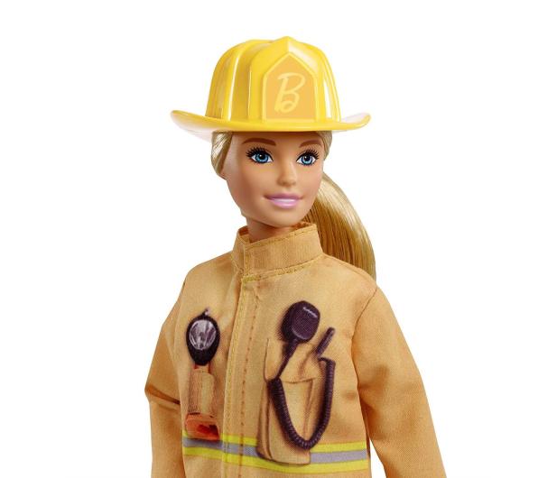 Barbie Kariera 60 urodziny Lalka Strażak - 471411 - zdjęcie 3