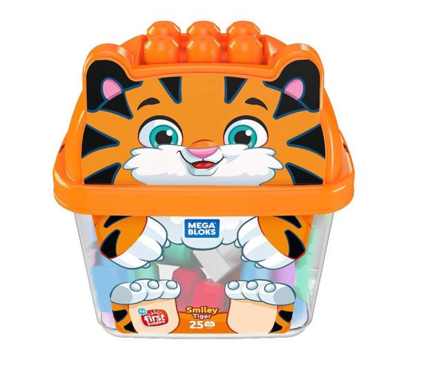 Mega Bloks Pojemnik z klockami Tygrysek - 471609 - zdjęcie