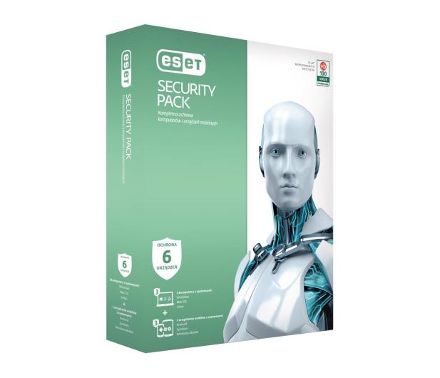 Eset Security Pack 3PC + 3smartfony (36m.) - 200655 - zdjęcie