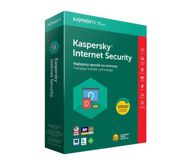 Kaspersky Internet Security Multi-Device 1st. (12m.) - 386791 - zdjęcie