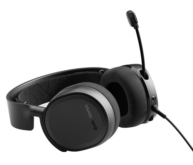 SteelSeries Arctis 3 Czarne - 338179 - zdjęcie 3