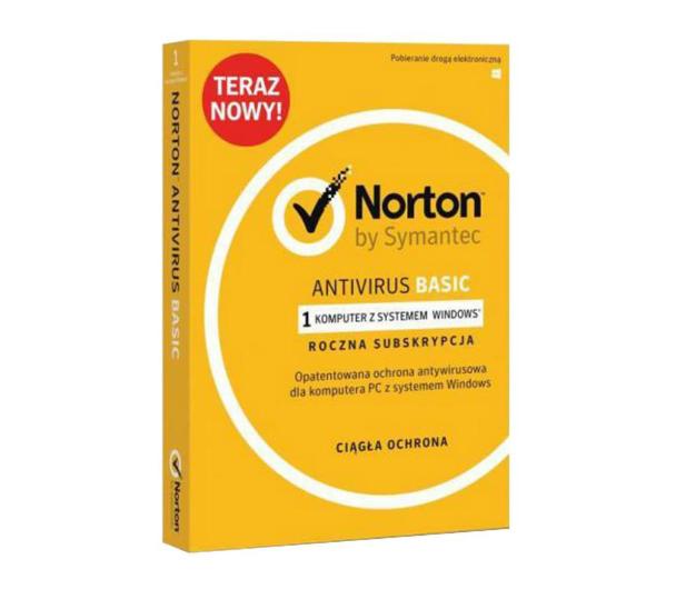 Symantec Norton Antivirus Basic 1st. (12m.) - 461169 - zdjęcie