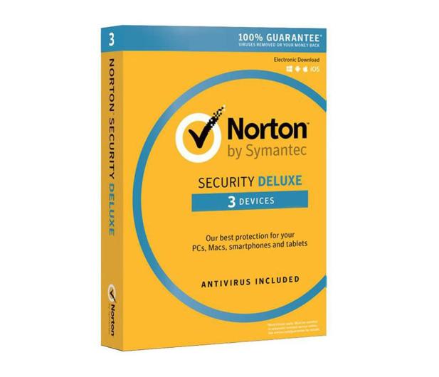 Symantec Norton Security Deluxe 3st. (12m.) - 314623 - zdjęcie