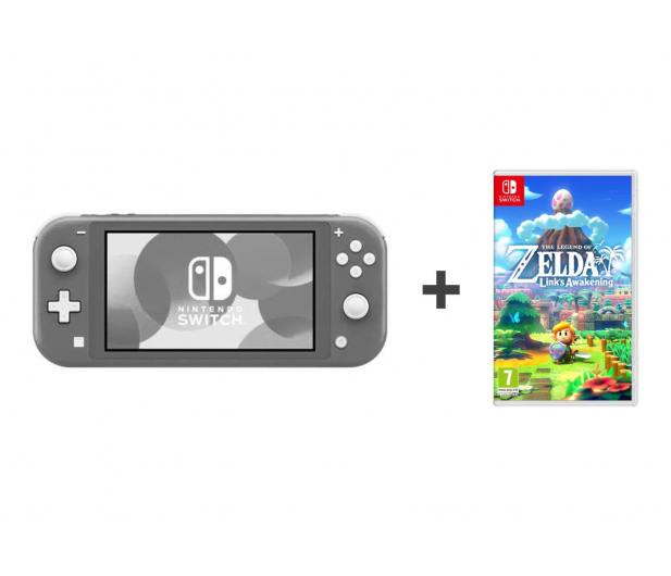 Nintendo Switch Lite (Szary) + Zelda: Link's Awakening - 521187 - zdjęcie