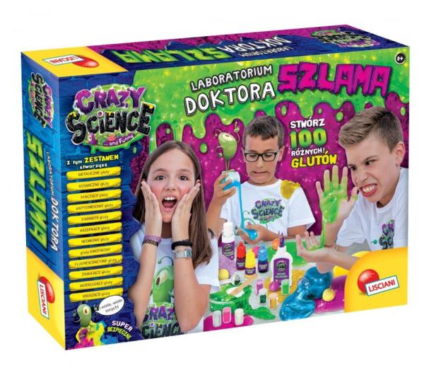 Lisciani Giochi Crazy Science Laboratorium doktora szlama - 521586 - zdjęcie