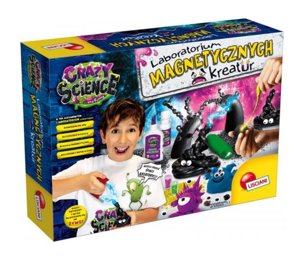 Lisciani Giochi Crazy Science Laboratorium magnetycznych kreatur - 521593 - zdjęcie