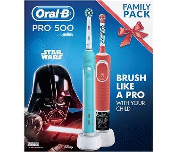 Oral-B Pro 500 + D100 Kids StarWars - 522866 - zdjęcie 2