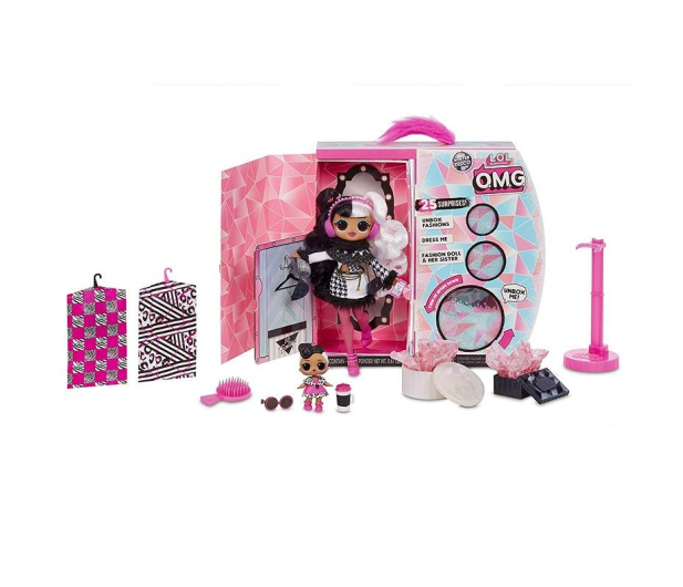 MGA Entertainment L.O.L. Surprise OMG Winter Disco Dollface - 522734 - zdjęcie 2