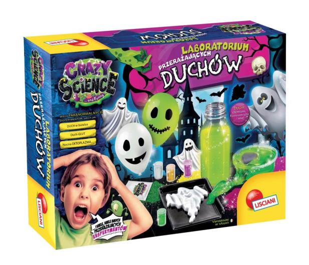 Lisciani Giochi Crazy Science Laboratorium przerażających duchów - 502300 - zdjęcie
