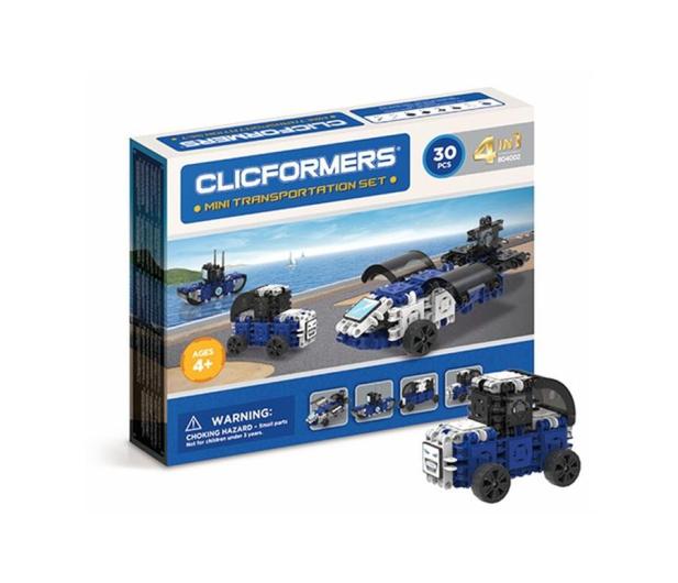 CLICS CLICFORMERS Transportowce 4w1 30el. 804002 - 524183 - zdjęcie