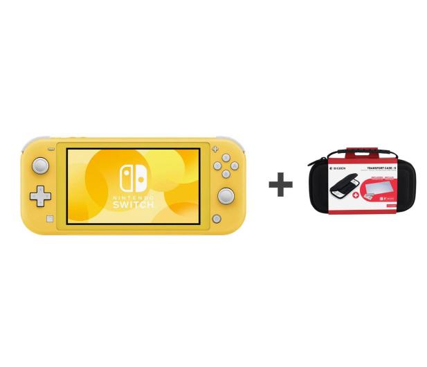 Nintendo Switch Lite (Żółty) + Etui + Szkło - 520188 - zdjęcie