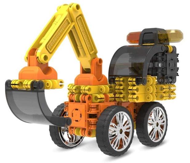 CLICS CLICFORMERS Maszyny budowlane 70el 802001 - 524210 - zdjęcie 3