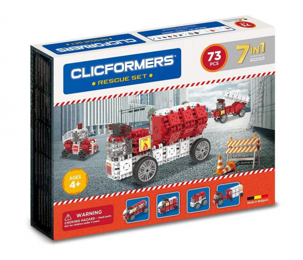 CLICS CLICFORMERS Straż Pożarna 70 el. 802003 - 524256 - zdjęcie