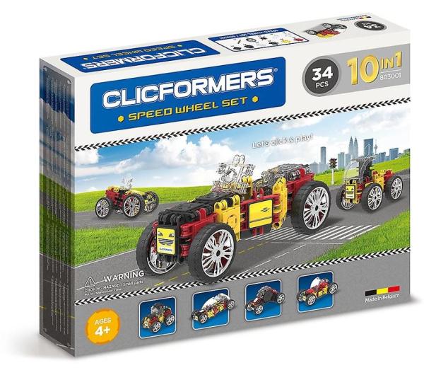 CLICS CLICFORMERS Pojazdy 34 el. 803001 - 524258 - zdjęcie