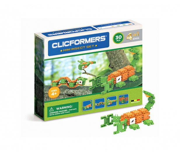 CLICS CLICFORMERS Insekty 4w1 30el. 804005 - 524264 - zdjęcie
