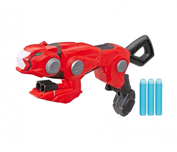 NERF Power Rangers Wyrzutnia Cheetah Beast Blaster - 525049 - zdjęcie