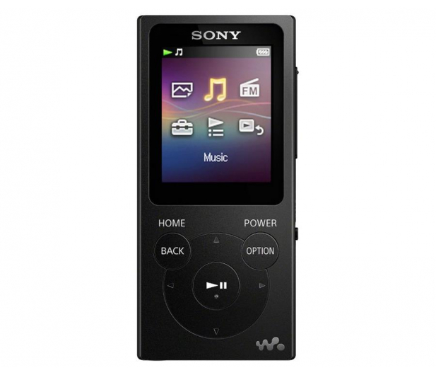 Sony Walkman NW-E393 Czarny - 525324 - zdjęcie