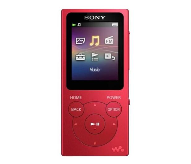 Sony Walkman NW-E393 Czerowny - 525327 - zdjęcie