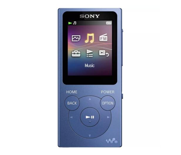Sony Walkman NW-E393 Niebieski - 525326 - zdjęcie