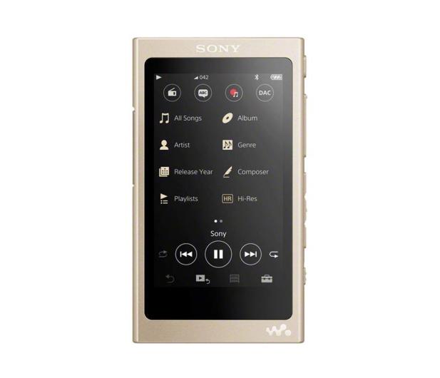 Sony Walkman NW-A45 Złoty - 525315 - zdjęcie