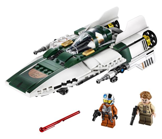 LEGO Star Wars Myśliwiec A-Wing Ruchu Oporu - 519793 - zdjęcie 2