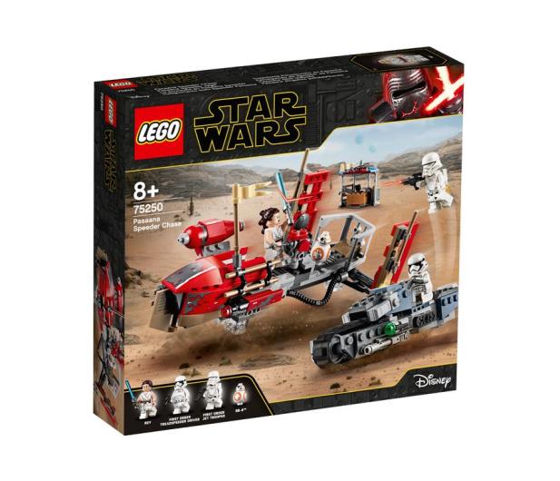 LEGO Star Wars Pościg na śmigaczach w Pasaana - 519798 - zdjęcie