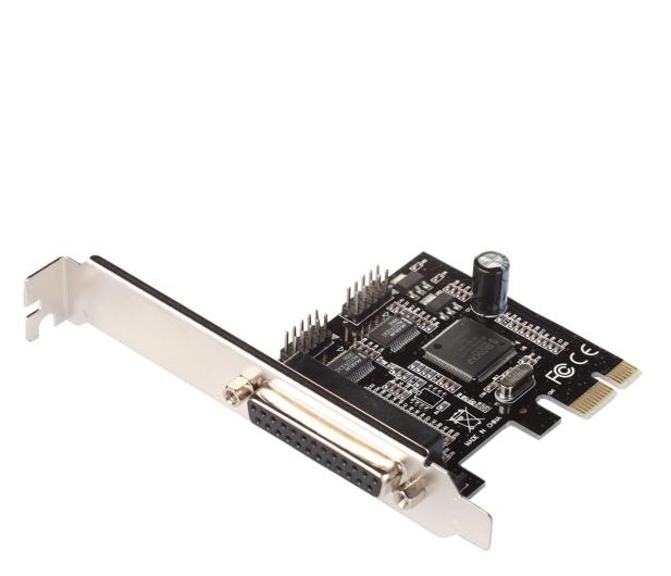 i-tec Kontroler PCI-E - 2x RS232, LPT - 518551 - zdjęcie