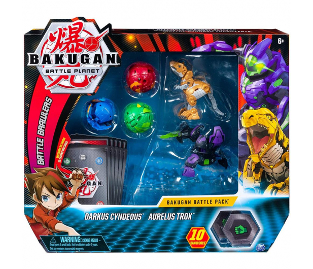 Spin Master Bakugan 5 Pack + Karty - 517397 - zdjęcie 3