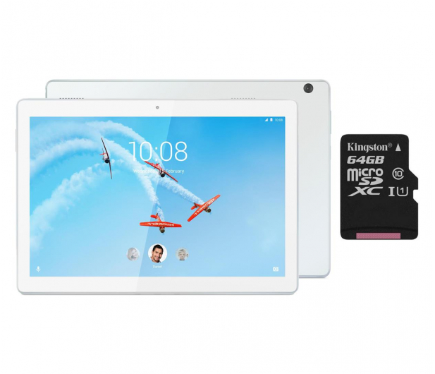 Lenovo TAB M10 QS450/3GB/96GB/Android 8.0 LTE Biały - 525697 - zdjęcie