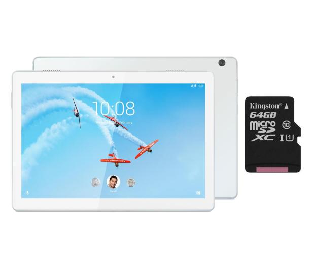 Lenovo Tab M10 QS429/2GB/96GB/Android 8.0 WiFi Biały - 525744 - zdjęcie