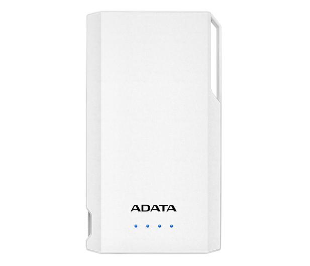 ADATA Power Bank S10000 10000mAh 2.1A (biały) - 518813 - zdjęcie