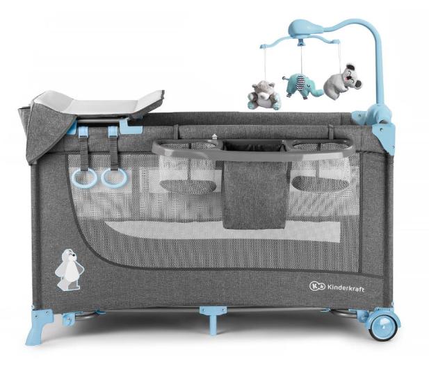 Kinderkraft Joy Blue + akcesoria - 487545 - zdjęcie 3