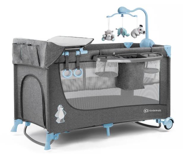 Kinderkraft Joy Blue + akcesoria - 487545 - zdjęcie 4