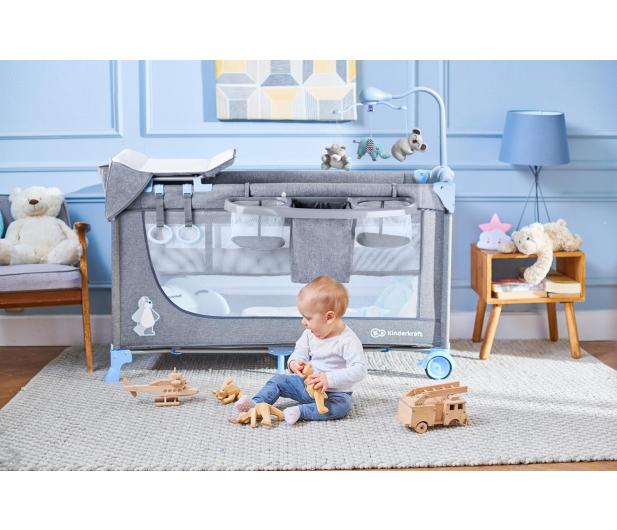 Kinderkraft Joy Blue + akcesoria - 487545 - zdjęcie 12
