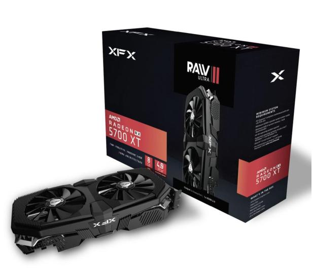 XFX Radeon RX 5700 XT RAW II ULTRA 8GB GDDR6 - 521415 - zdjęcie