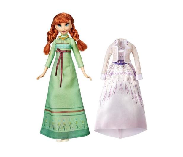Hasbro Frozen 2 Stylowa lalka Anna +  ubranka - 518944 - zdjęcie