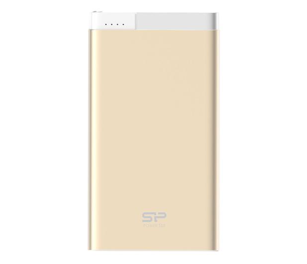 Silicon Power Power Bank S55 5000mAh (złoty) - 520203 - zdjęcie