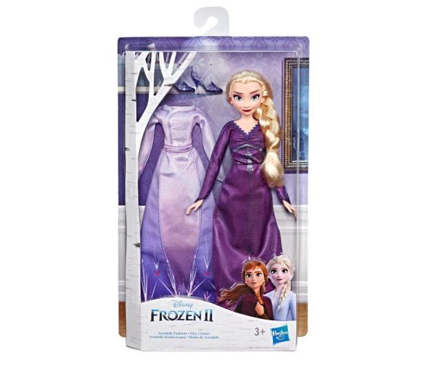 Hasbro Frozen 2 Stylowa lalka Elsa + ubranka - 518945 - zdjęcie 4