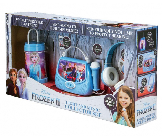 Panda eKids Disney Frozen 2 Zestaw 3w1 karaoke - 527960 - zdjęcie