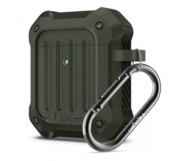 Spigen Tough Armor do Apple Airpods zielone - 527226 - zdjęcie 5