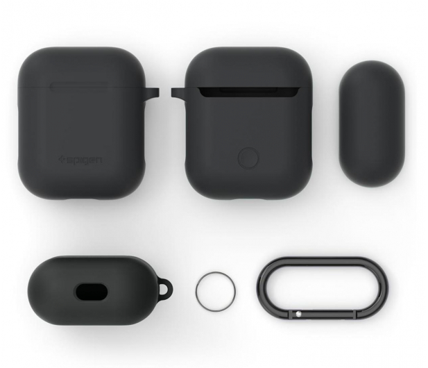Spigen Apple Airpods case grafitowy - 527230 - zdjęcie 6