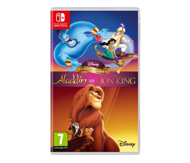 Switch Disney Classic Games: Aladdin and the Lion King - 527438 - zdjęcie