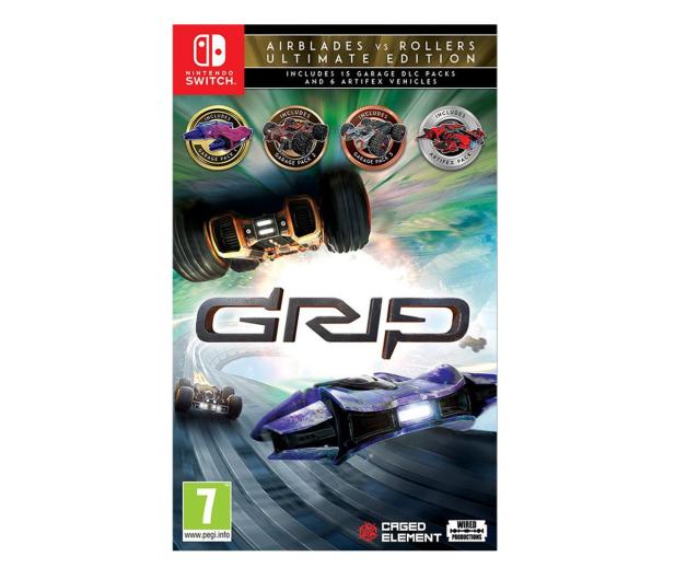 Switch GRIP: Combat Racing - Rollers vs AirBlades U. Ed. - 527448 - zdjęcie