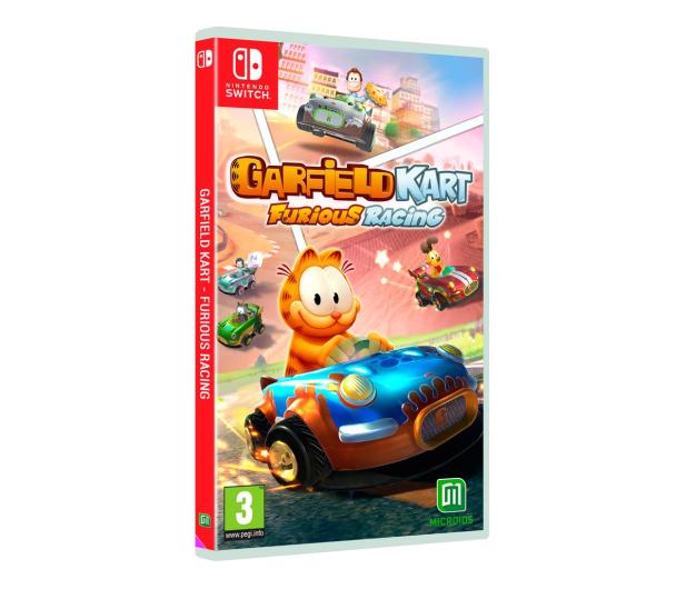 Switch Garfield Kart Furious Racing - 527458 - zdjęcie