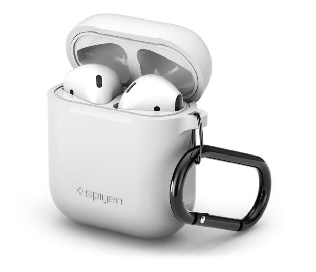 Spigen Apple Airpods case biały - 527223 - zdjęcie 5