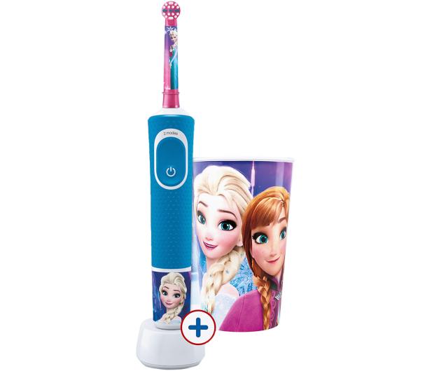 Oral-B D100 Kids Frozen + Kubek - 522885 - zdjęcie
