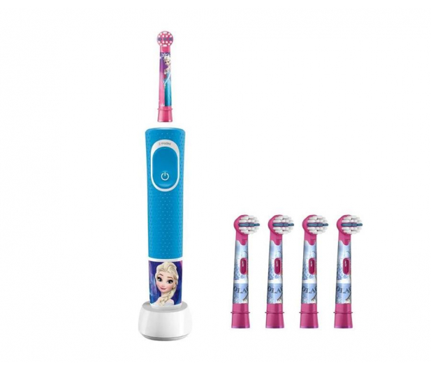 Oral-B D100 Kids Frozen + końcówki EB10-4 - 527037 - zdjęcie